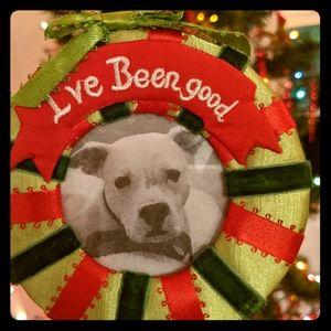 I've Been Good Pet Ornament